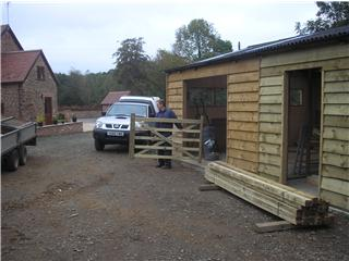 Our workshop in Chetton
